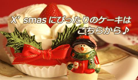 クリスマスにぴったりのケーキはこちらから♪