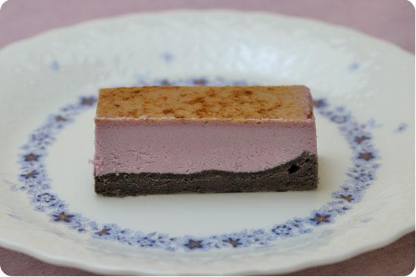 フリーカットケーキ 紫芋のチーズブリュレ3
